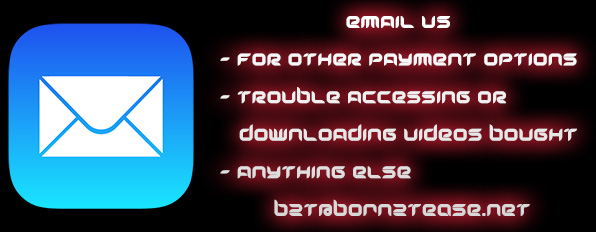 Email Us at b2t@born2tease.net - For Payment Options, Video Downloads, Issues or anything else