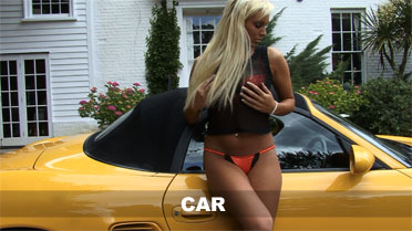 Cara Brett Car Video