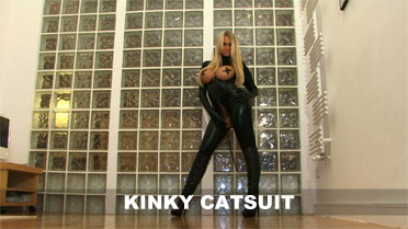 Cara Brett Kinky Catsuit Video