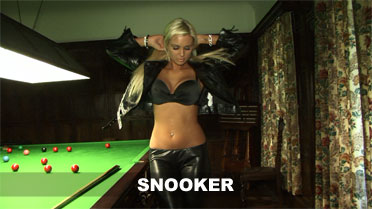 Cara Brett Snooker Video