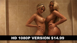 Cara Brett and Hannah P Baby Oil Topless and Nude Hi-Def 1080p Video