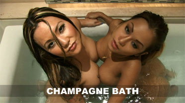 CJ Miles and Eve Champagne Bath Video