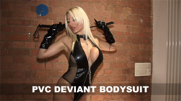 Dani Thompson Pvc Deviant Bodysuit Video