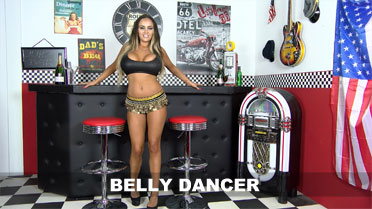 Danni Levy Belly Dancer Video
