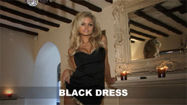 Emma Spellar Black Dress Video