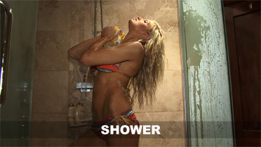 Emma Spellar Shower Video
