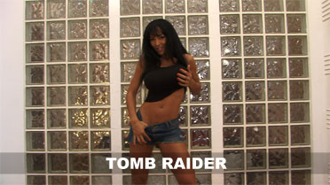 Fernanda Tomb Raider Video