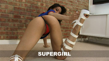 Francine Dee Supergirl  Video