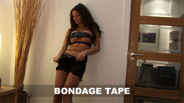 Gemma Hiles Bondage Tape Video