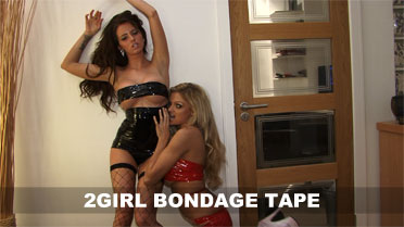Gemma Hiles and Emma Spellar Bondage Tape Video