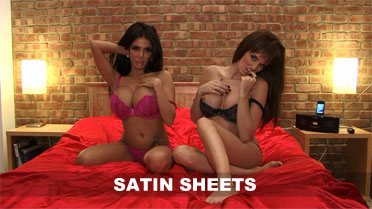 Gemma Hiles and Holly James Satin Sheets Video