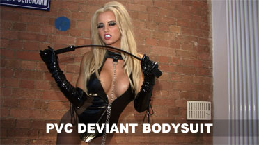 Gemma Hiles Pvc Deviant Bodysuit Video