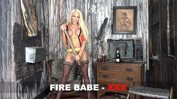 Lucy Summers Fire Babe Video