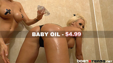 Lucy Summers and Jenna Hoskins Baby Oil Video