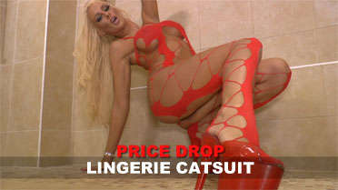 Lucy Summers Lingerie Catsuit Video