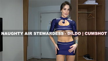 Maxie Rhoads Naughty Air Stewardess Video