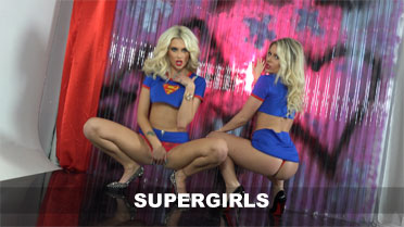 Mikayla Bayliss and Mikaela Witt Supergirls Video