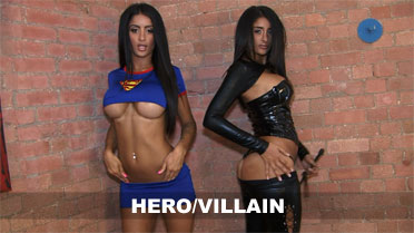 Twins Preeti and Priya Young Hero/Villain Video