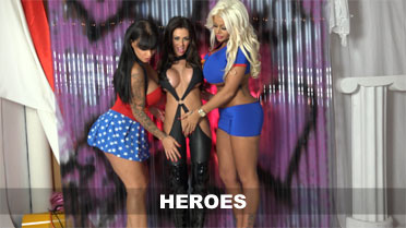 Candy Charms, Kerry Louise and Ree Petra Heroes Video